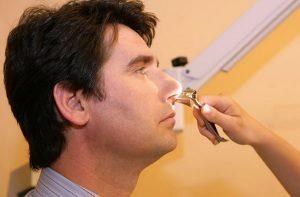метод обследования носа