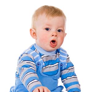 кашляющий ребенок
