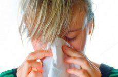 девушку мучает заложенность носа