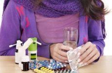 лечение медикаментами при ангине