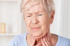 у пожилой жнщины болезненные ощущения в горле
