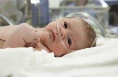 новорождённый больнице