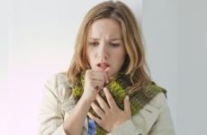 першение и кашель