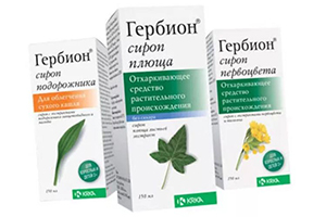 Обзор инструкций и отзывов о применении сиропов Гербион для лечения сухого и влажного кашля у детей