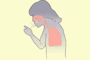 выделение мокроты при кашле
