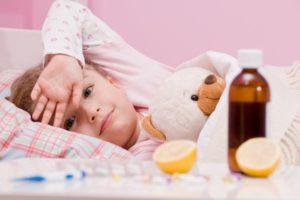 ребенок болен