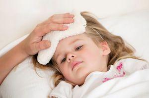 компресс на лбу у ребенка