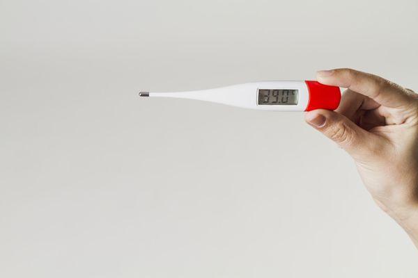градусник с высокой температурой