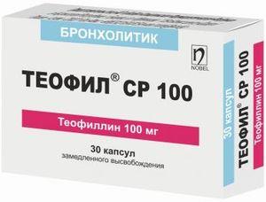 таблетки Теофиллин
