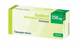 таблетки Азибиот