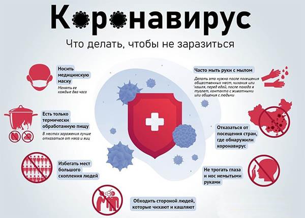 как не заразиться коронавирусом